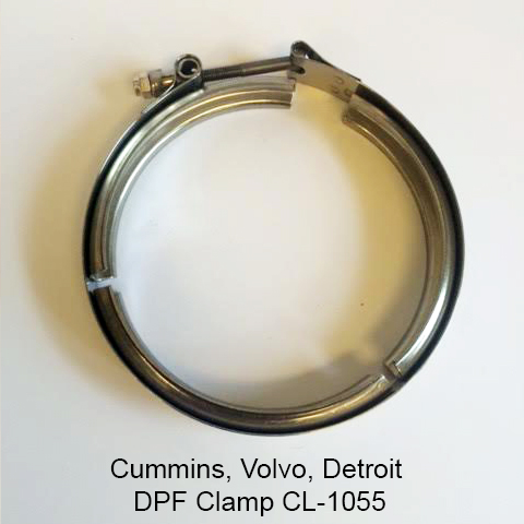 Cummins, Volvo, Detroit DPF Clamp CL-1055